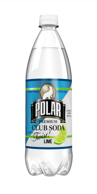 Lime Twist! Polar Club Soda