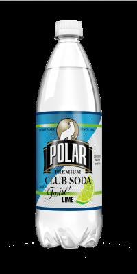 Lime Twist! Polar Club Soda