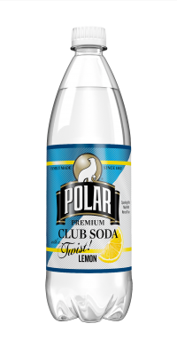 Polar Club Soda Lemon Twist