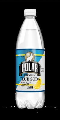 Polar Club Soda Lemon Twist